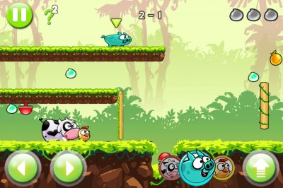 What Happens When A Chick, A Pig, And A Cow Team Up? Find Out In Piggy Adventure