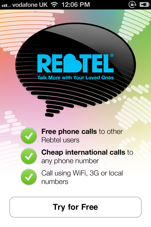 The Recently Updated Rebtel VoIP App Can Switch Between Voice And Data Networks