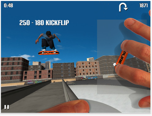 Show Off Your Finger Skateboarding Skill With PureSkate