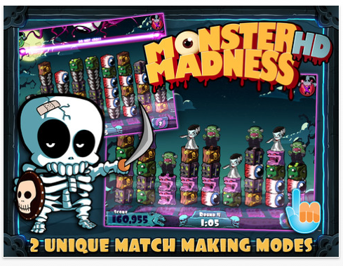 Match Blocks To Vanquish Monsters In Monster Madness HD