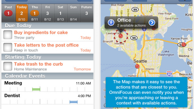 OmniFocus For iPhone And iPad Updated: Adds Support For iOS 5