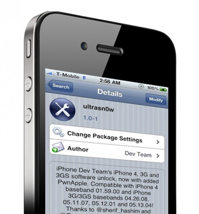 Jailbreak Only: Ultrasn0w For iOS 5 To Launch Tomorrow