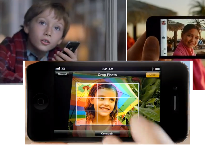 Three New iPhone 4S Ads Released