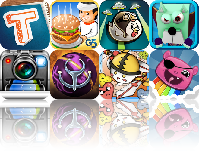 iOS Apps Gone Free: Totes M'Notes, Stand O'Food, Chicken Balls HD, And More