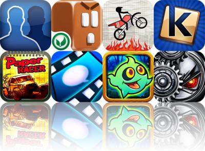 iOS Apps Gone Free: FakeStatus, ChocoRun, Stick Stunt Biker, And More