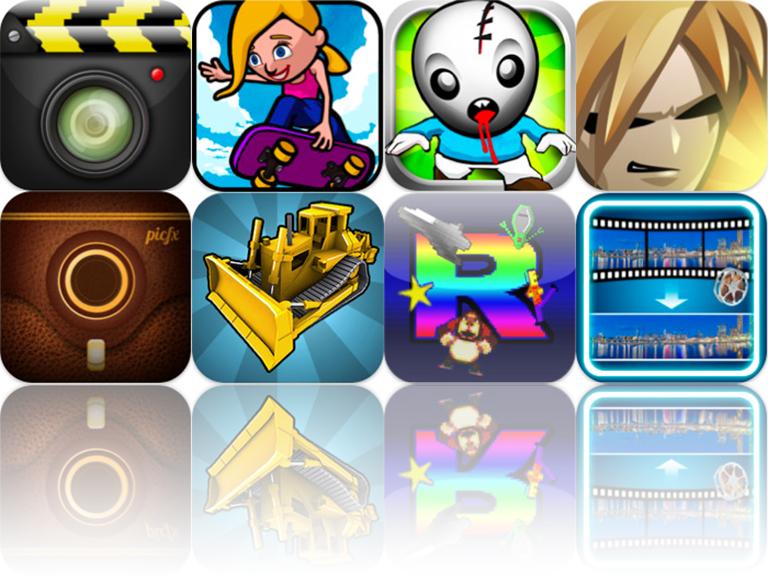 iOS Apps Gone Free: Digital World Camera, Puzzle Dozer, Dream Skate, And More