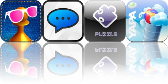 iOS Apps Gone Free:  PuzzleGo, Yapa, Perfect Captions, And Hipsta Chez