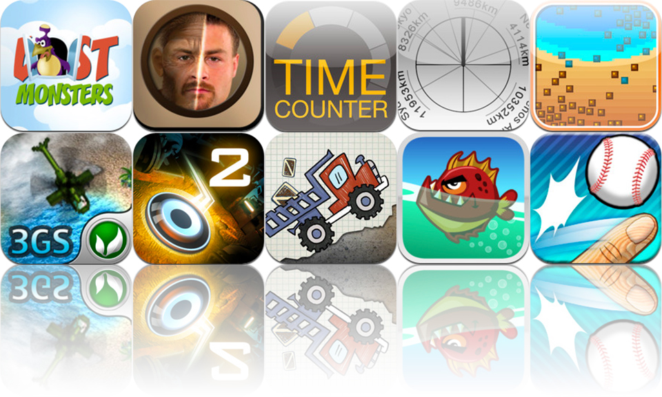 iOS Apps Gone Free: Dark Nebula - Episode Two, Fish Fury, Time Counter, And More