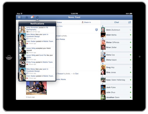Facebook For iPad To Hit The App Store Anytime Now (Update: It's Here!)