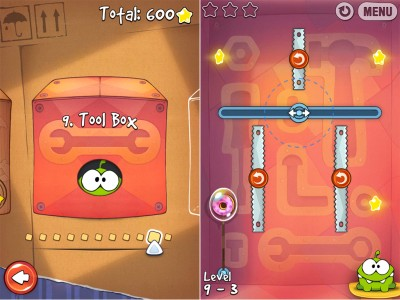 Cut The Rope Just Got A Little More Manly With The Addition Of The Tool Box