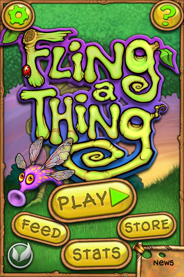 Pop Some Bubbles, Kill Some Time With Fling A Thing