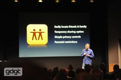 Apple Announces Find My Friends App