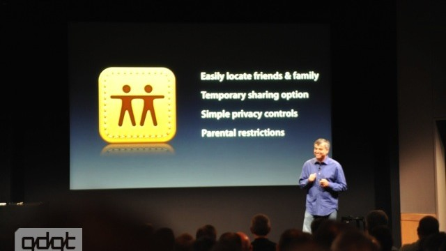 Apple Announces Find My Friends App