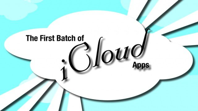 New AppList: The First Batch Of iCloud Apps