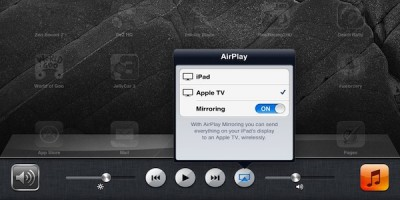 How-To: Activate AirPlay Using An iPhone 4S Or iPad 2