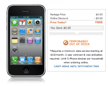 """AT&T Seeing """"Tremendous, Tremendous Demand For iPhone 3GS"""""""