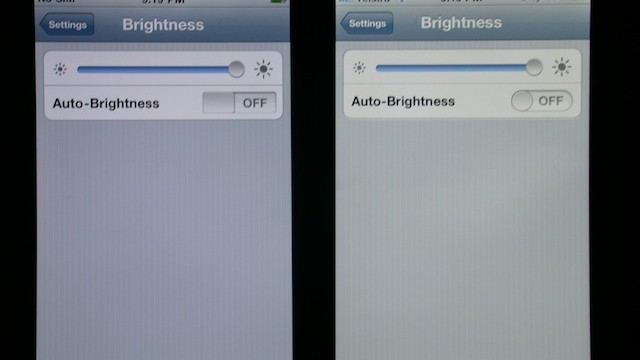 Complaints Of Yellow And Washed Out Screen Issue On Black iPhone 4S
