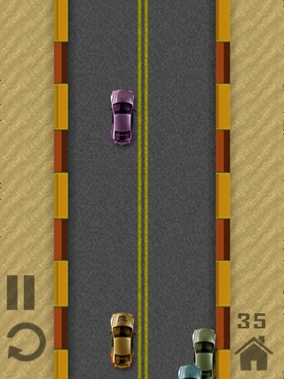 You'll Have To Weave In And Out Of Traffic To Make It As Far As You Can In Asphalt Mania