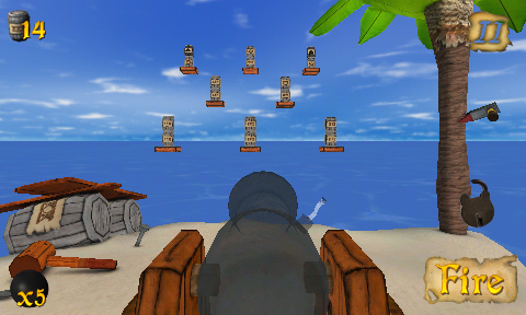 Aim Straight With A Steady Hand In Crazy Cannon