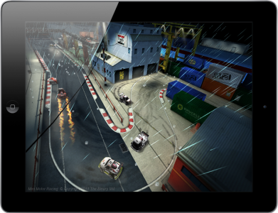 First Look: Mini Motor Racing For iPhone 4S, iPad 2