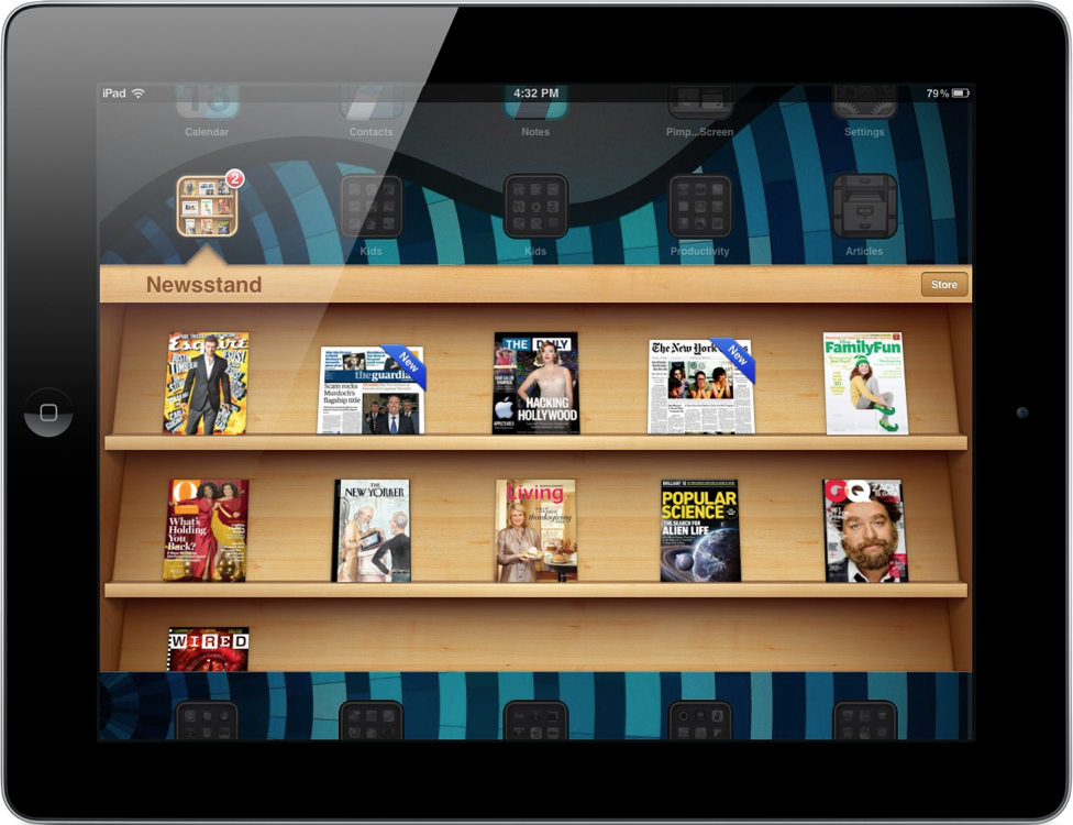 Here Is How To Put Newsstand In A Folder