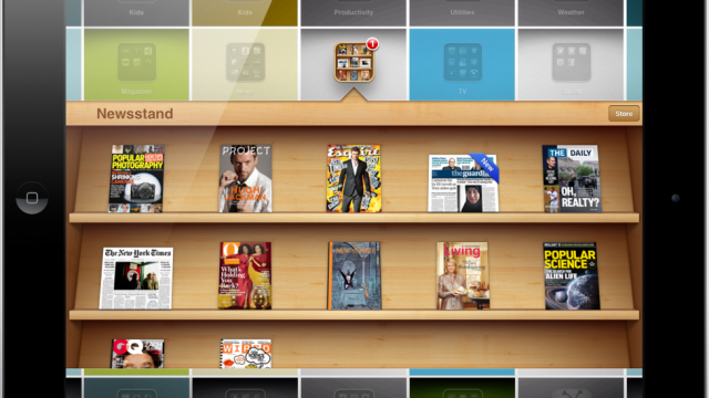 Two Weeks In, Newsstand Is Already Very Popular