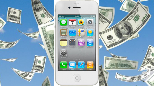 No Surprise, Apple Makes A Ton Of Money On Each iPhone 4S Sold