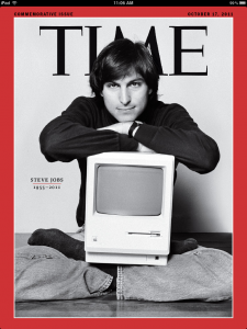 TIME's Steve Jobs Issue Arrives - And It Is Amazing