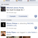 Facebook For iPhone Brings A New Look Of Its Own