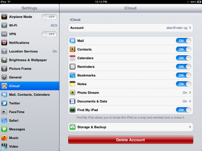 how to use icloud to transfer apps