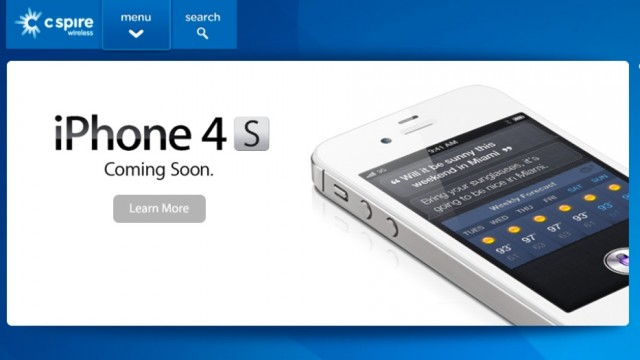 The iPhone 4S is Headed Down South, Coming to C Spire Wireless