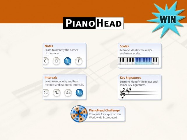 A Chance To Win PianoHead For iPhone Or iPad