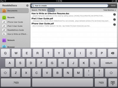 ReaddleDocs For iPad Jumps To v3.0, Making Numerous Additions To Nearly Every Area