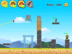 Troll Blaster - Physics Strategy Game by eMobiSoft Inc. screenshot