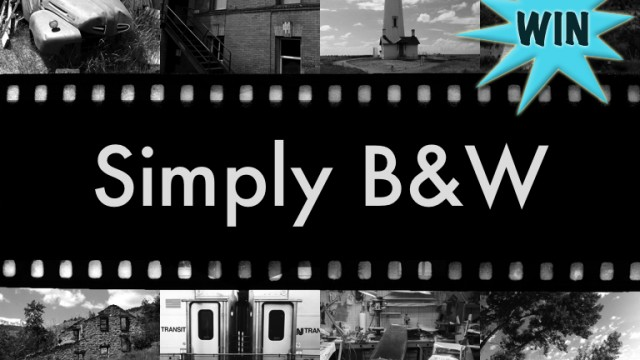A Chance To Win Simply B&W For iPhone Or iPad