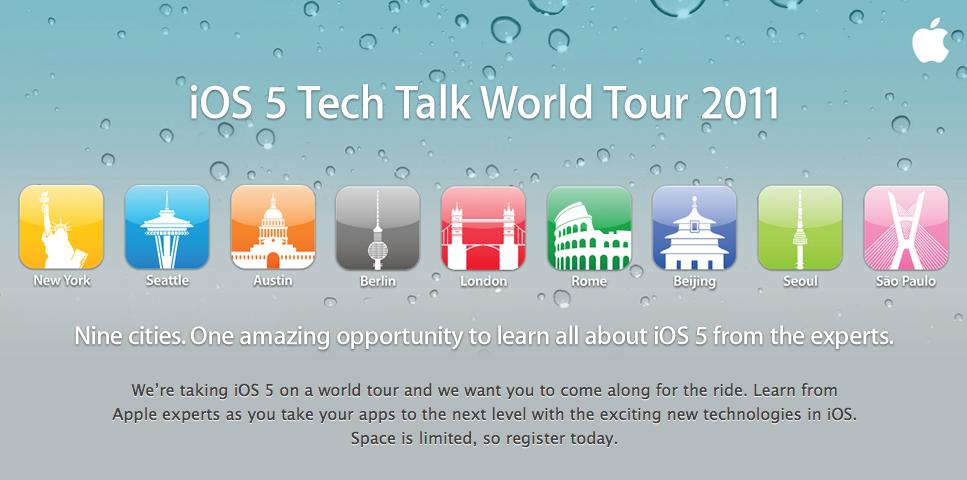 Apple Announces 2011 Tech Talk Dates