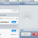 Adding Your Own Vibrations Via iOS 5