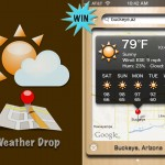 A Chance To Win Weather Drop For iPhone And iPod Touch