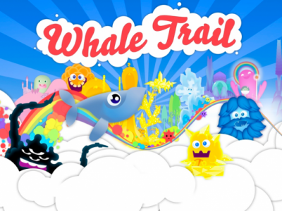 Fly Through The Skies In Whale Trail