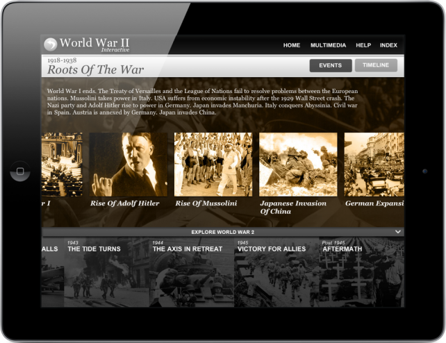 World War II Interactive Arrives On iPad