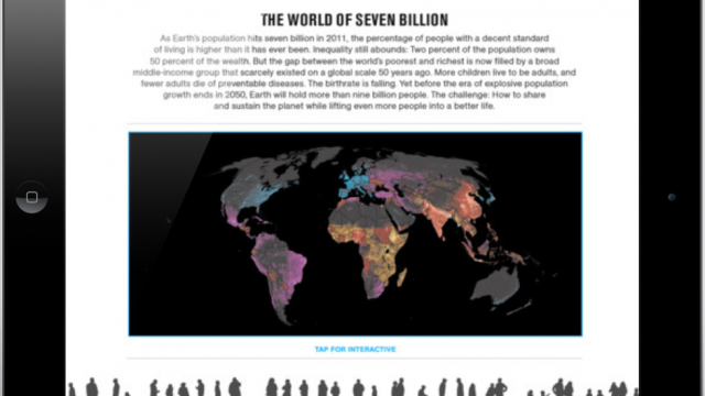 Explore 7 Billion By National Geographic - Trending In The App Store Now