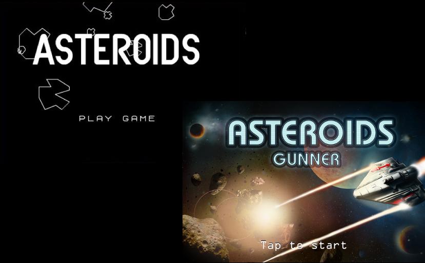 Atari Release Asteroids: Gunner