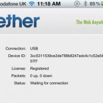 Grab It Quick: iTether - Tether Your iPhone's Data Connection For A One Time Fee [Update: And It's Gone!]