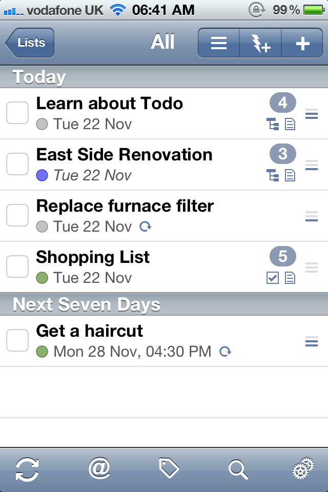 Todo Gets An Update - Adds iCloud Support, Makes General Improvements