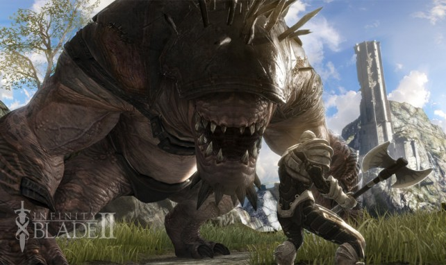 Infinity Blade II Now Available In The New Zealand App Store - Expect It To Arrive In America Tonight