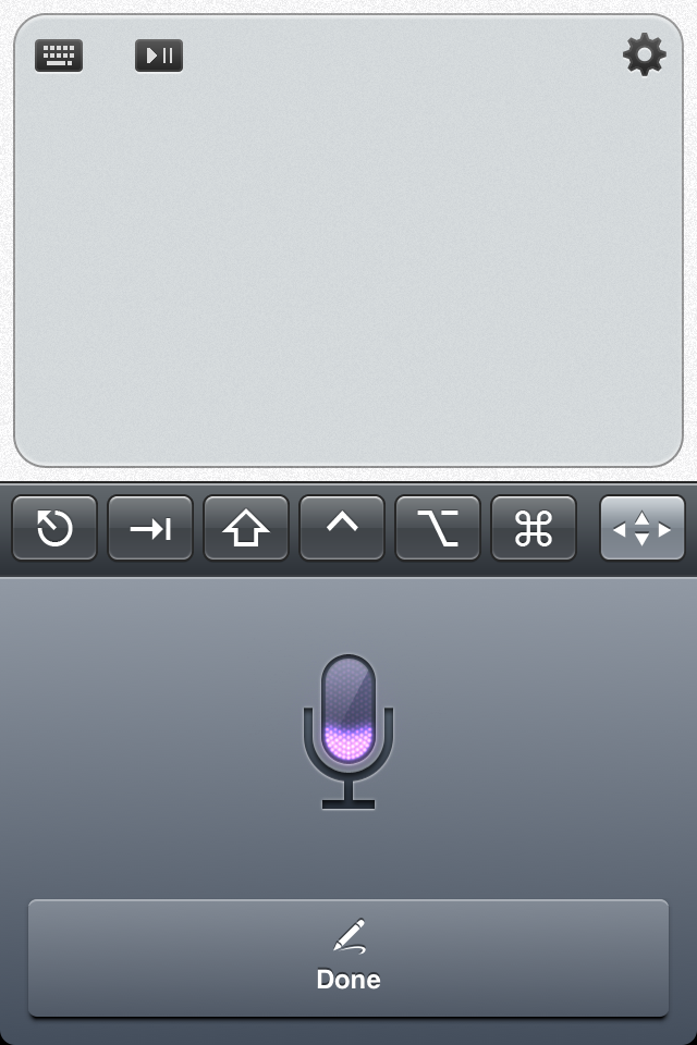 TouchPad Updated - Adds Siri Support, More Media Players And New Shortcuts