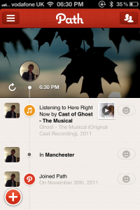 Path Gets A Major Update: Adds New Design, Music, Check-Ins And More