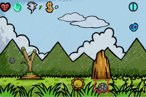 Aim For Alien Enemies Overhead And On The Ground To Stay Alive In, Alien: Doodle UFO