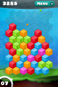 Hold Steady As You Drop Balls To Match Blocks In Hop Drop