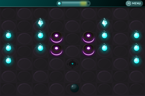 Collect All The Orbs As You Spin And Roll Around The Red Dangers In Orb Zone